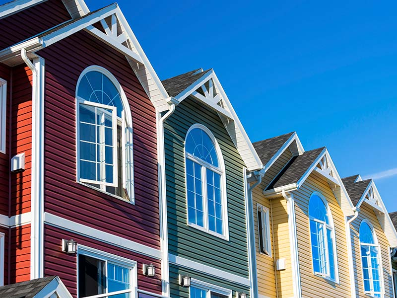 New Siding on Houses in Maryland
