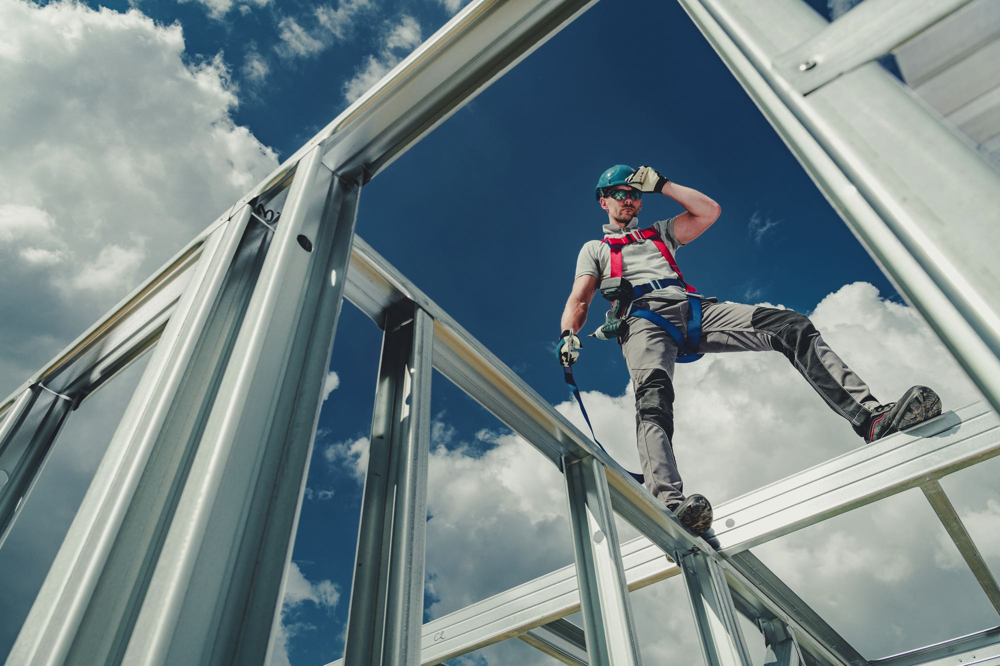 working using safety harness ZSWUFNL